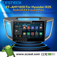 ZESTECH Full Capacitive Screen Multi-point touch auto 2 din android 4.4 car dvd player for Hyundai IX25