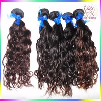 Hot Selling 10A 100% Unprocessed Wavy Hair Extension Indian Water Wave Wholesale Price Fast Shipping