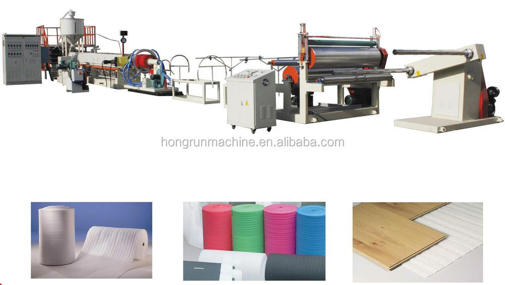 EPE foam sheet machine ce certification Stainless Steel Air Bubble and EPE foam Bag Making Machine