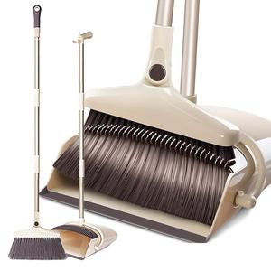 Manufacturer Telescopic Floor Cleaning Rotatable Brush Broom with Dustpan