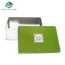 Off-set Printing Chocolate Packaging Box Rectangular Tin Container
