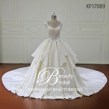 Sexy Gorgeous See Through Princess Lace New Wedding Dress Bridal Gown 2017 Luxury