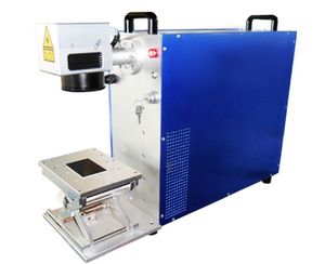 Name Tag / Business Card / Key Ring Fiber Laser Marking Printing Machine 20w 30w 50w