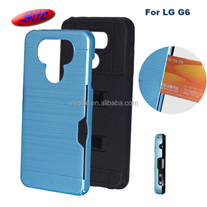 OEM custom design light up cell phone accessories cases heat dissipation  stylish mobile phone back cover for LG G6