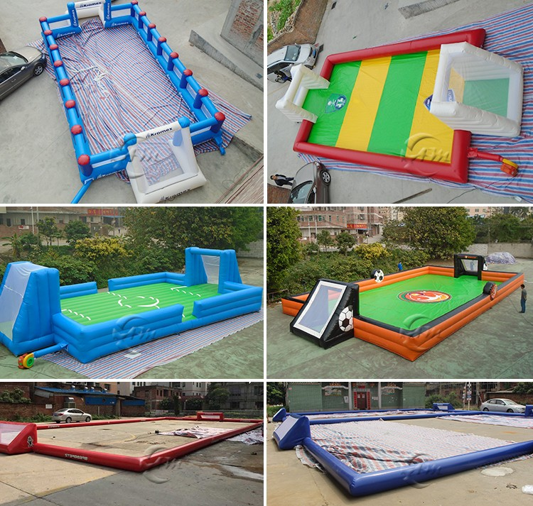 water sports equipment inflatable water volleyball court with trampoline for adults