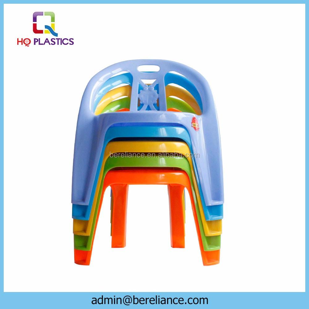 Escuela infantil silla para ni os de pl stico para jugar for Silla infantil plastico