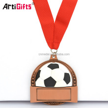 Design Your Own Wholesale 3D Miraculous Football Fiesta Medals And Trophies Guanzhou China