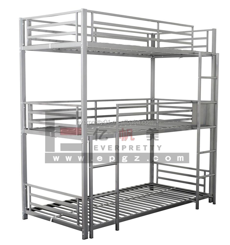 3 Sleeper Metal Triple Bunk Military Adult Bunk Beds Buy Military
