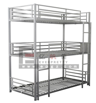 3 Sleeper Metal Triple Bunk Military Adult Bunk Beds Buy Military Adult Bunk Beds Triple Metal Bed 3 Sleeper Bunk Bed Product On Alibaba Com