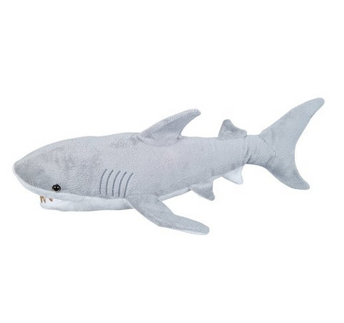 2018 59cm Stuffed Simulation Shark Creative Big Plush Toy Cushion Pillow Home Decor Toys For Children Christmas Gifts From Dhoney