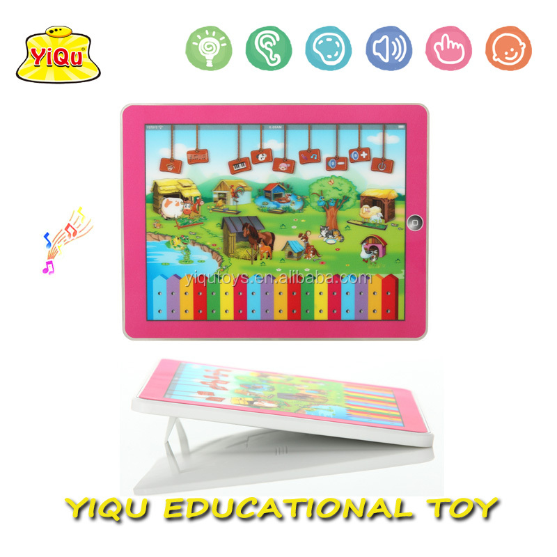 3d-pad Spanish Packaging Educational Learning Pad Music Baby ...