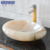 Directly Factory hot sale natural stone hand wash sink White Onyx Irregular shape