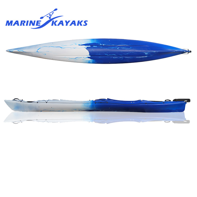 Oem Sit In Double Sea Kayak Made in China, Blue Ocean Kayak