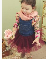 97bf8adb21b5 Korean New Trend Fashion Baby Girls Denim Skirt Dress China ...