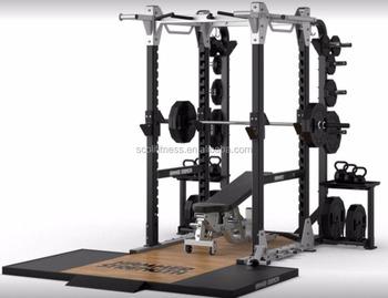 Hammer Strength Hd Elite Power Rack Commercial Gym Fitness ...