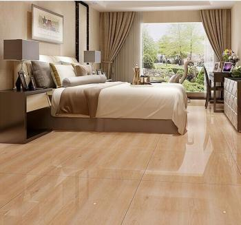 Wood Grain Porcelain Tile Serpeggiante Look Flooring
