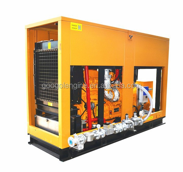 250kW 300kVA CHP CCHP Natural Gas Generator 60Hz 1800RPM