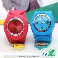 Silicone Slap Watch / Sicone Watch With Slap Band