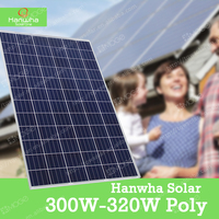China best wholesale 4BB 300 305 310 315 320 watt photovoltaic solar panel with high quality