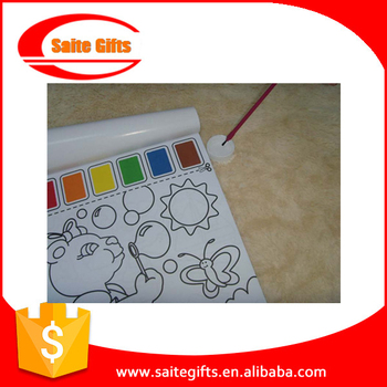 New Children Drawing Toy Magic Water Paint Coloring Book - Buy ...