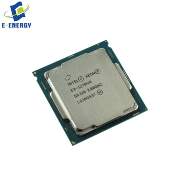 Tray Package CPU E3-1270V6 4 Core CPU Server Accessory