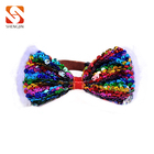 Wholesale fashion Sequins Adjustable Cat Collar Bow Tie Dog Bow Ties pet accessories