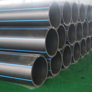 High Density HDPE PE100 Large Diameter Polyethylene Pipe for water supply