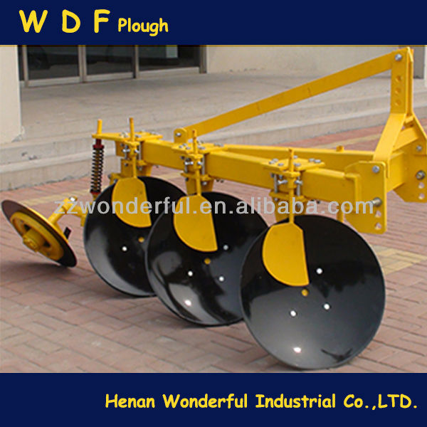 WDF 1LY(SX)-525 reversible hydraulic agricultural used disc ploughs
