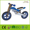 "Moto-X 12"" Wooden Motorcycle Balance Bike Toy for Baby"