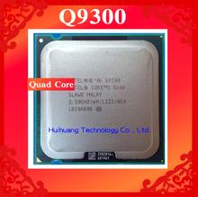 Lifetime warranty Core 2 Quad Q9300 2.5GHz 6M Four nuclear threads desktop processors CPU Socket LGA 775 pin Computer