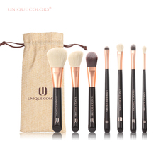 7 stücke personalisierte kosmetik make-up pinsel set kit