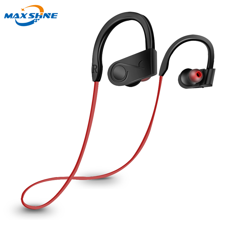 Maxshine 2018 listen music sports wireless headphone blue tooth headset for apple