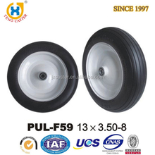 Jiaxing Plastic Updated Wheels,PU Industry Foam Trolley Wheel