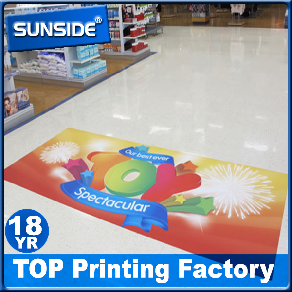 2016 distinctive Waterproof floor sticker, floor sign, floor signage made in China
