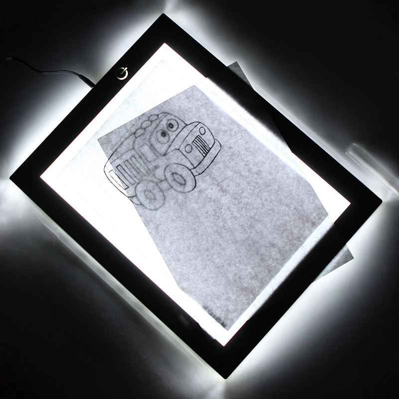 Ultra-thin A4 LED Animation Drawing Tracing Board Light Table Support Arts & Crafts, Tracing, Design, Photography
