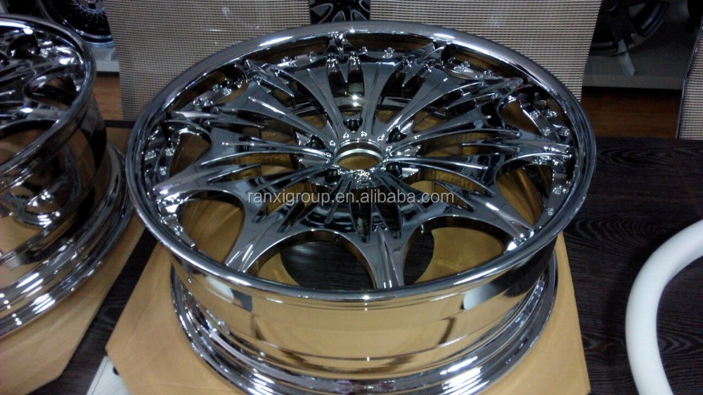 rims forged alloy aluminum alloy wheel 2-pieces 22x8.5inch PCD 5X127