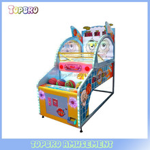 hot sale shooting hoop basketball /electronic basketball game machine for children