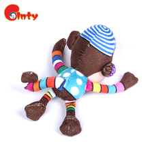 Cute decorative monkey plush toys for kids room
