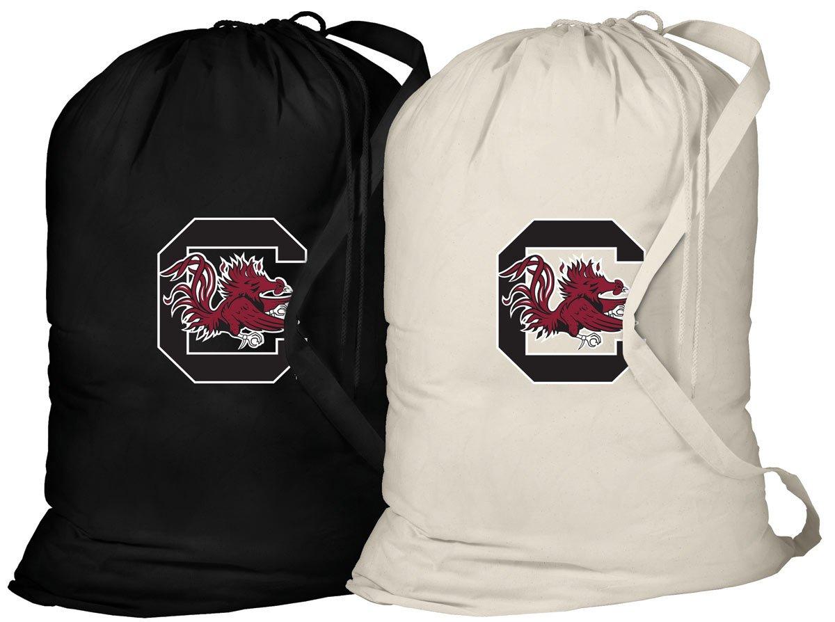 University of South Carolina Laundry Bag -2 Pc SET- South Carolina Gamecocks Clothes Bags