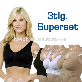 4188901476 Fashion Fitness Seamless Ahh Bra As Seen On TV Gym Clothing Free Shipping