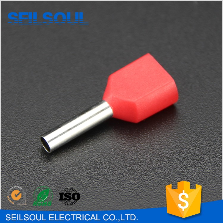 SeilSoul PVC Insulated Material Red Blue Black Yellow Color Copper Tube Terminal