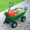 Semi Garden Cart Tow Behind Trailer Tractor/ATV/UTV Dump Cart manufacturer