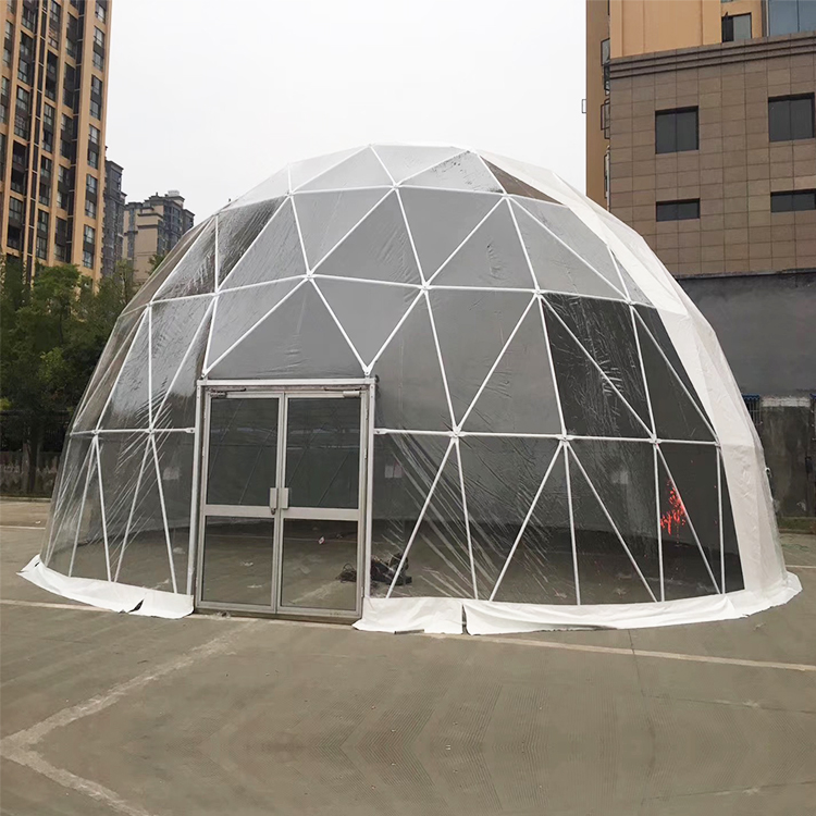 polygon dome tent diamrter in different shape for disaster Relief-6