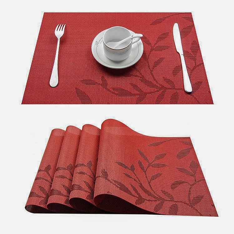 Alibaba.com / Cheap Mesh Foldable PVC Table Mat Washable Placemat Plastic Dining Table Place Mats