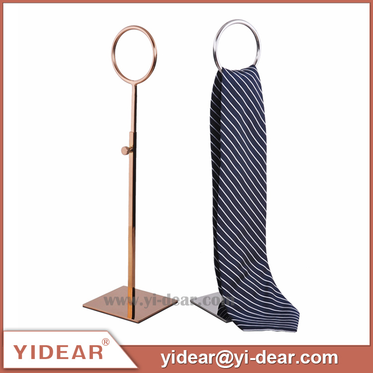 Yidear Metal Standing Scarf Tie Displays Rack Stand for Boutique/Fashion <strong>Retail</strong> Store
