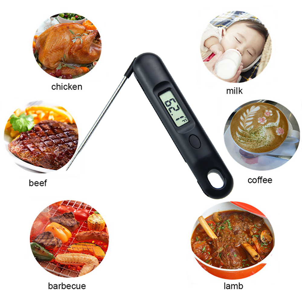 Food/bbq digital thermometer instant read