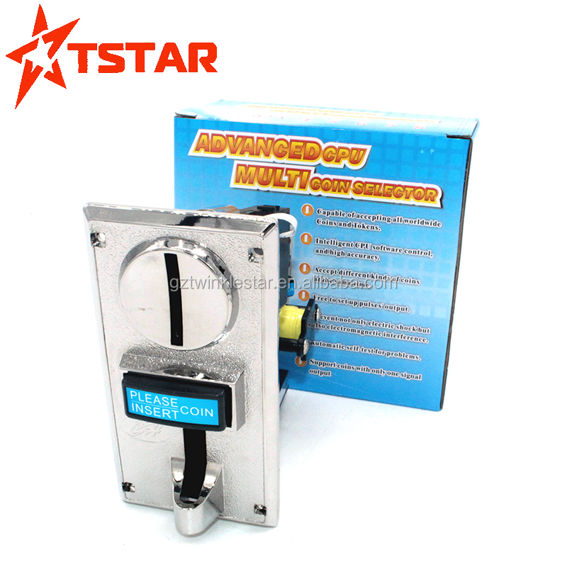 9 Value Multi Comparable Electronic Coin Acceptor Validator For Vending  Machine - Buy 9 Value Multi Coin Acceptor,Comparable Electronic Coin