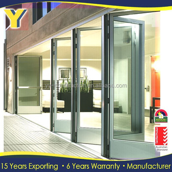 As2047as2088 Glass Folding Door Interior Folding Doors
