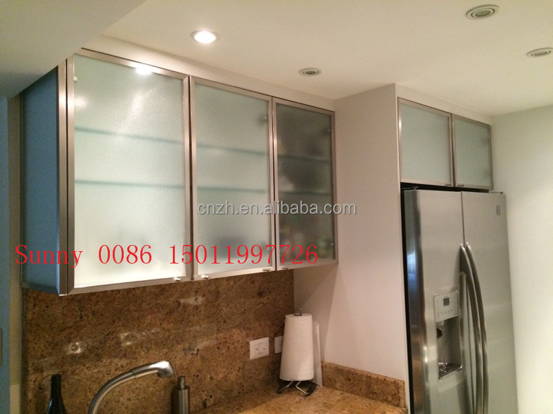 Frosted Glass Kitchen Cabinet Doors Frosted Glass Kitchen Cabinet