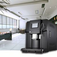 3 colors 3.5' touch screen cappuccino and espresso coffee maker